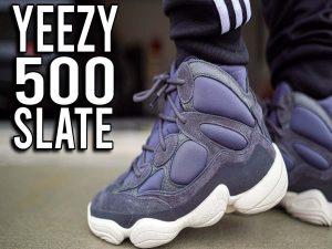 Real Fake YEEZY 500 Slate