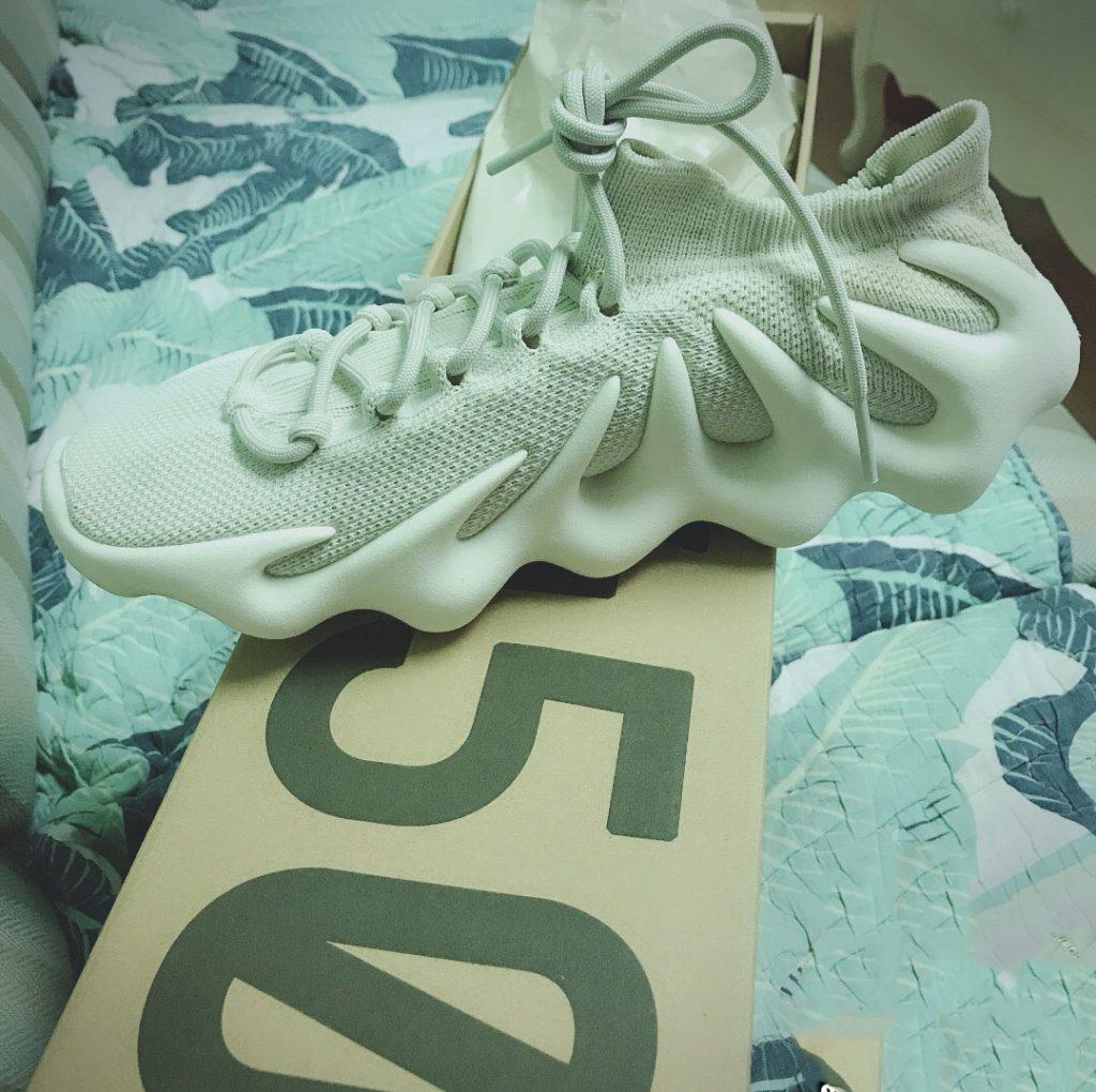 Yeezy 450 Cloud White