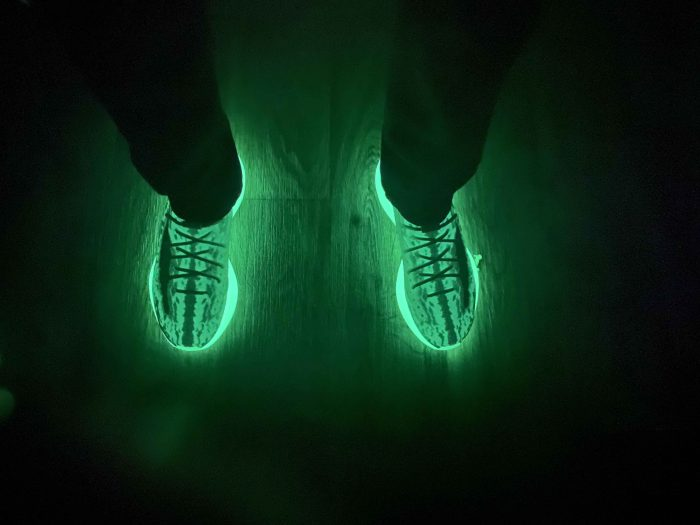 How to make yeezy 380 glow in the dark